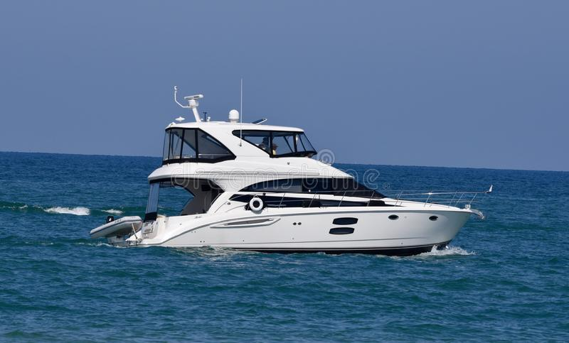 A Motor Yacht stock images