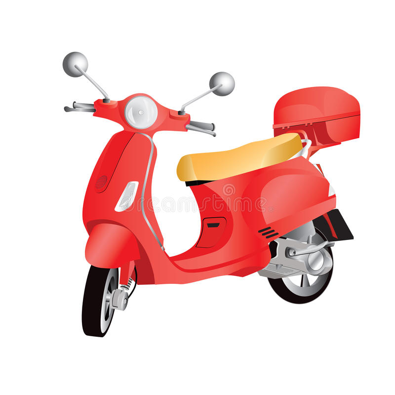 Motorbike stock illustration