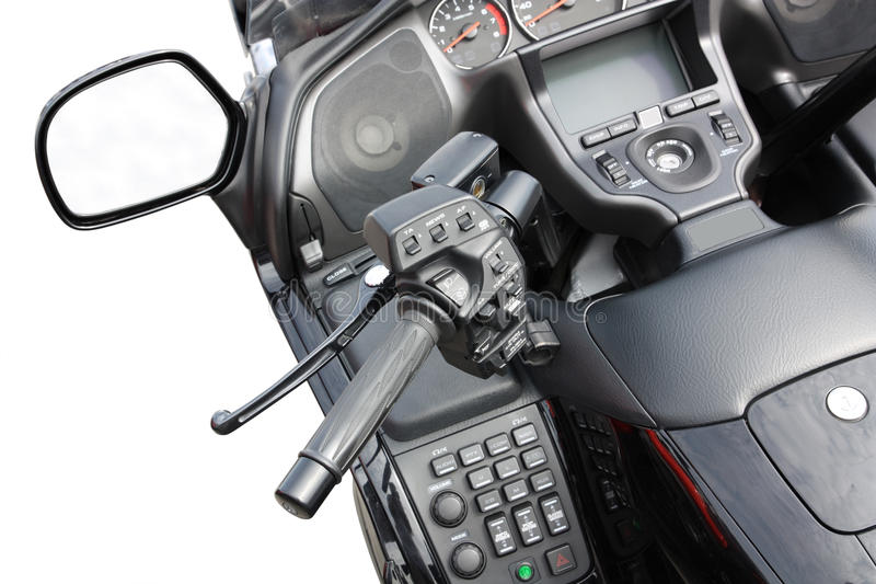 Download Motorbike stock photo. Image of handlebar, motorcycle - 17090436