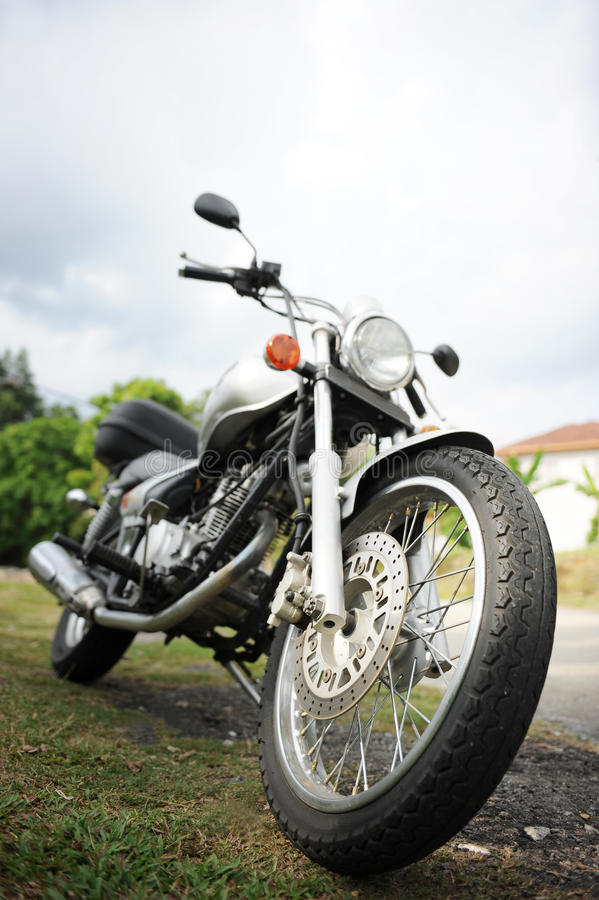 motorbike royaltyfria bilder