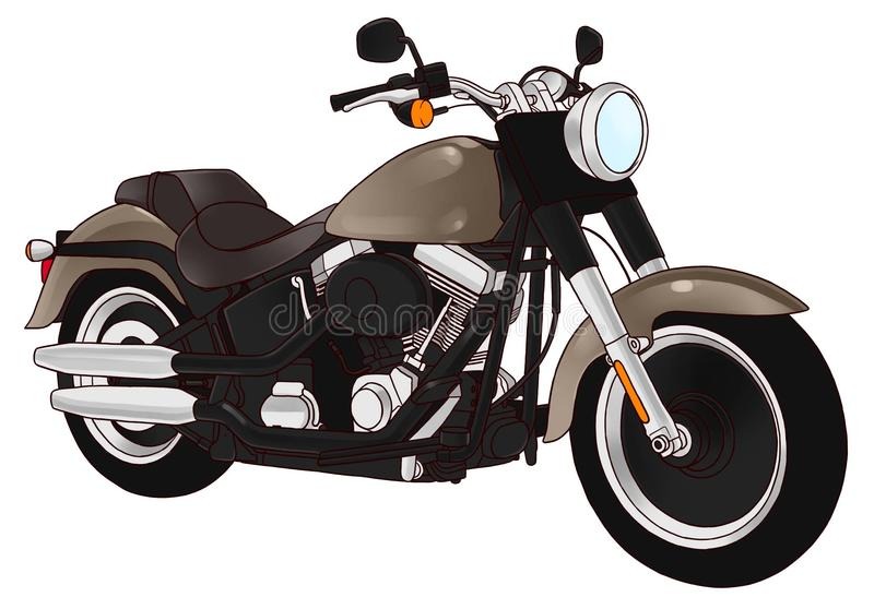 motorbike ilustração do vetor