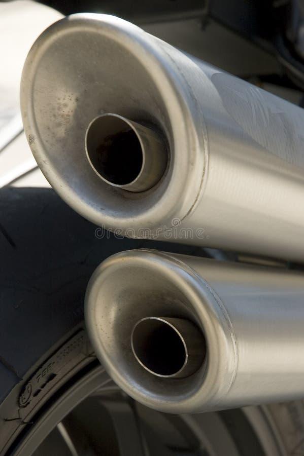 MOTORBIKE. Details royalty free stock photo