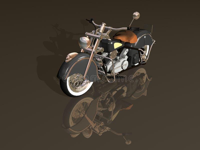motorbike stock illustrationer