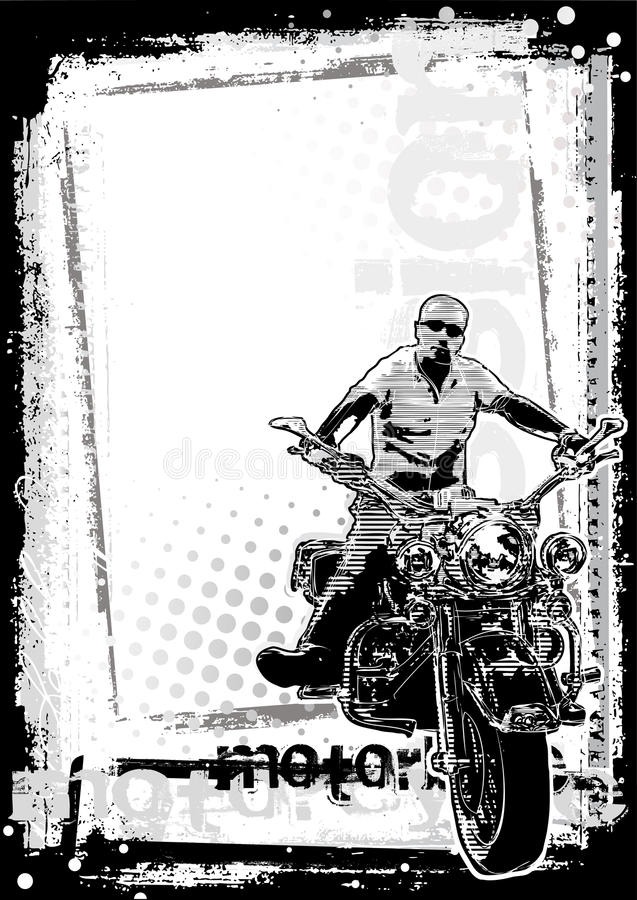 Download Motorbike Dirty Background Vertical Stock Vector - Illustration: 14884682