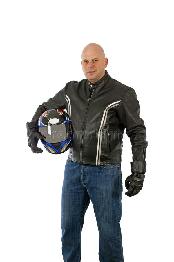 Download Motorbike driver stock photo. Image of expressing, clothing - 26066464