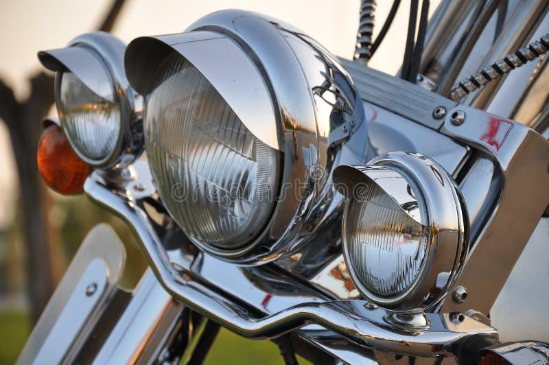 Motorbike lightbar royalty free stock photo