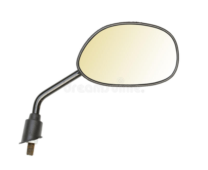 Download Motorbike mirror stock image. Image of part, isolated - 26815597