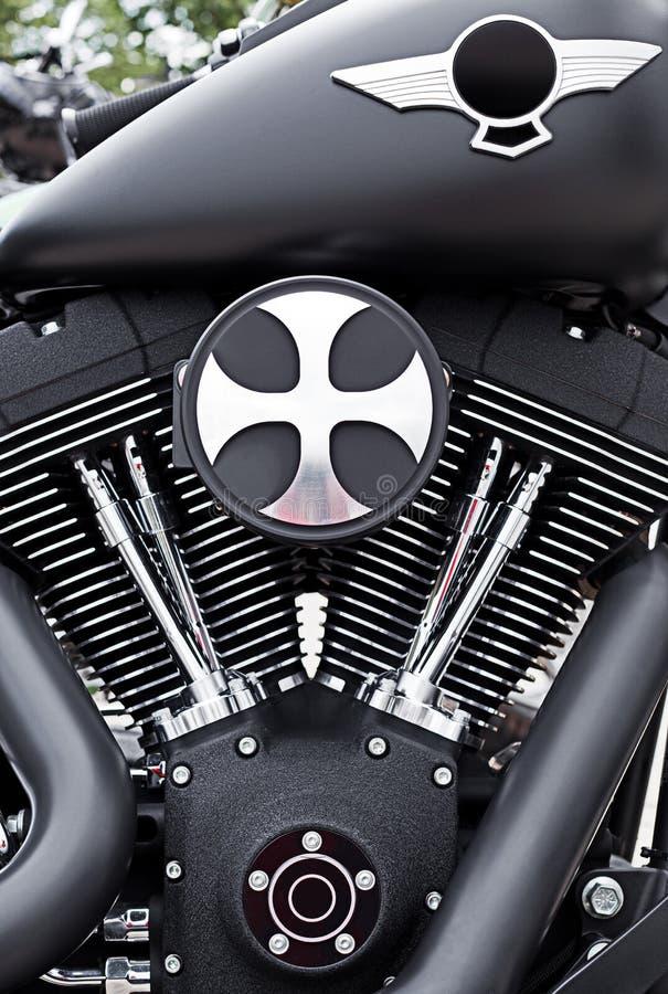 Free Motorbike Motor Detail Royalty Free Stock Images - 25418139