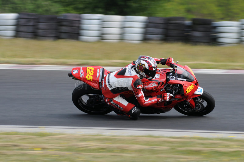 Motorbike Racing Championship royalty free stock image