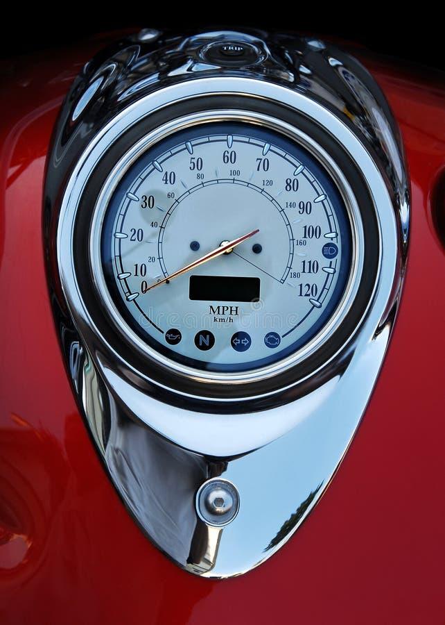 motorbike speedometer στοκ φωτογραφία