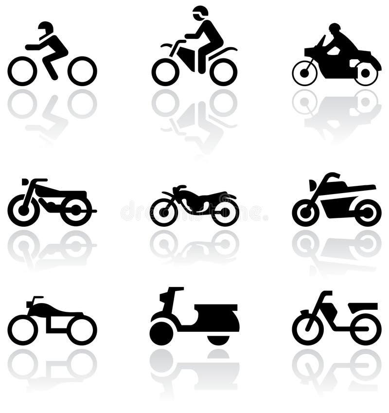 Download Motorbike Symbol Vector Set. Stock Vector - Illustration of sign, illustration: 16913831