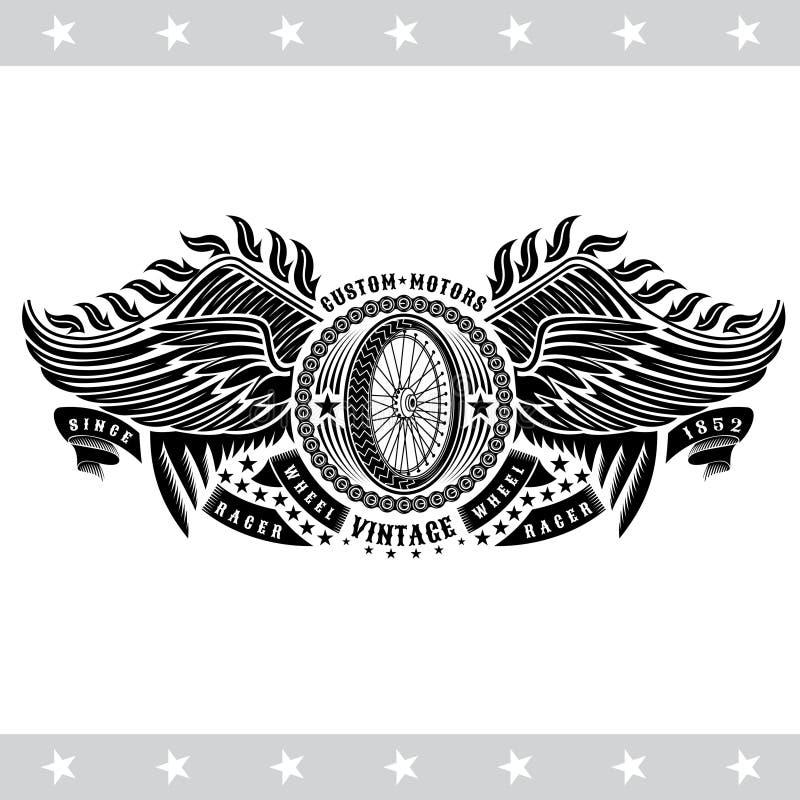 Wheel Motorcycle Stock Illustrations 16 447 Wheel