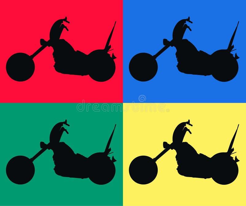 Motorbikes Stock Images