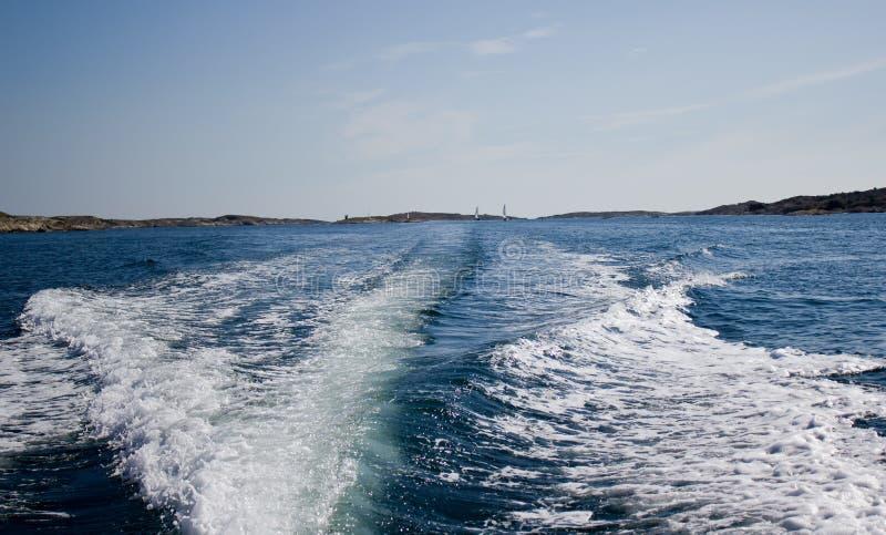 motorboat παφλασμός στοκ φωτογραφία