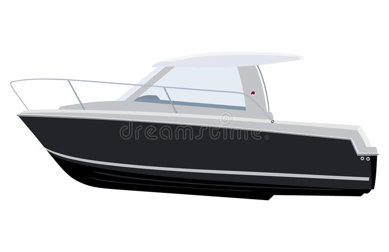 motorboat illustration libre de droits