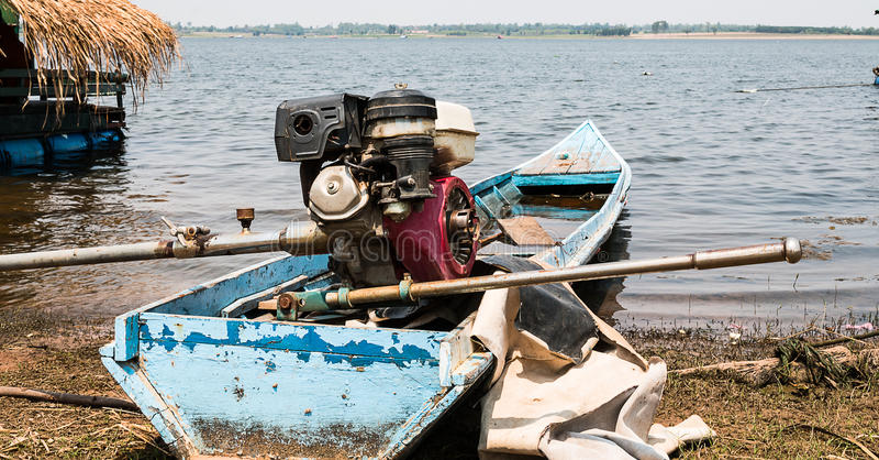 motorboat lizenzfreies stockfoto