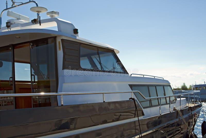 Motorboat stock photo