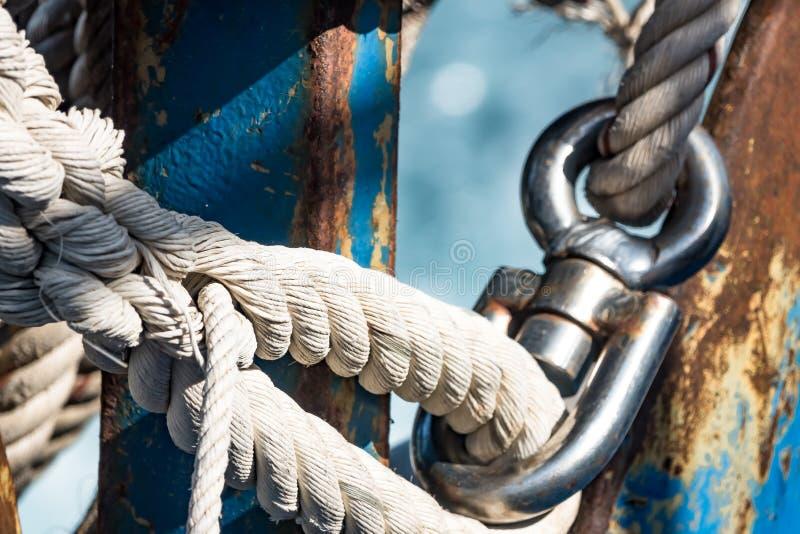 motorboat Elemente der Bootsgänge stockfoto