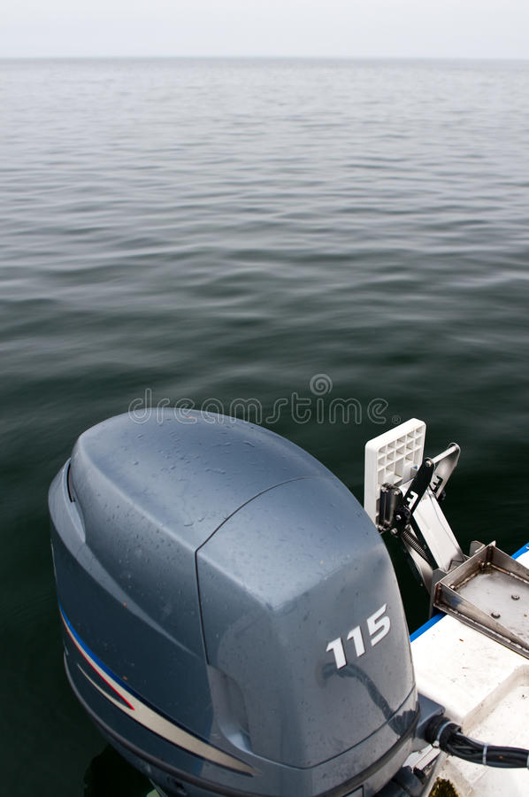 Download Motorboat Engine stock image. Image of motor, water, nautical - 14430433