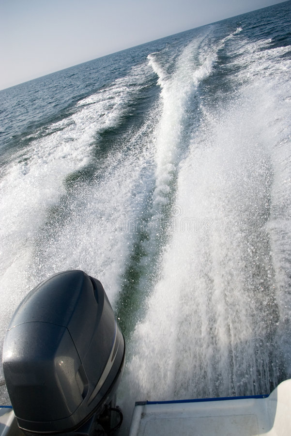 Free Motorboat Wake Stock Images - 2494684