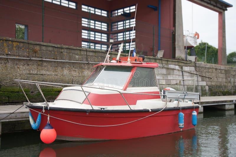 Motorboot stockfotografie