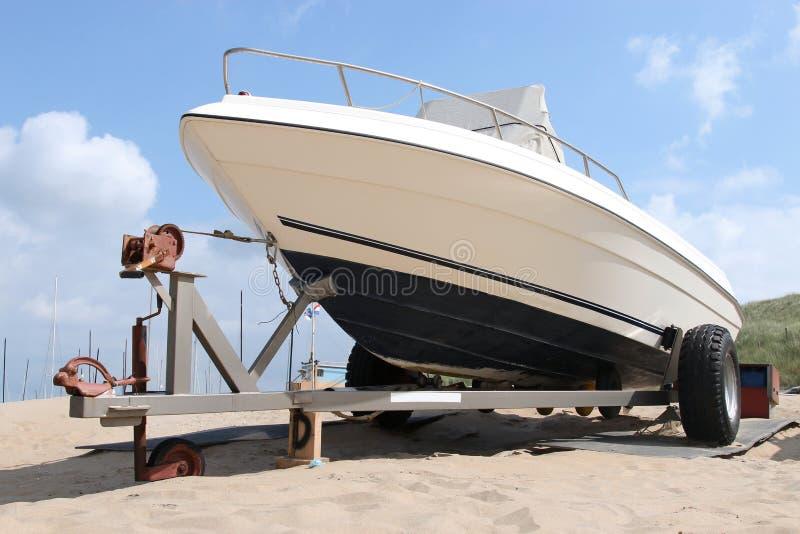 Motorboot 01 stock fotografie