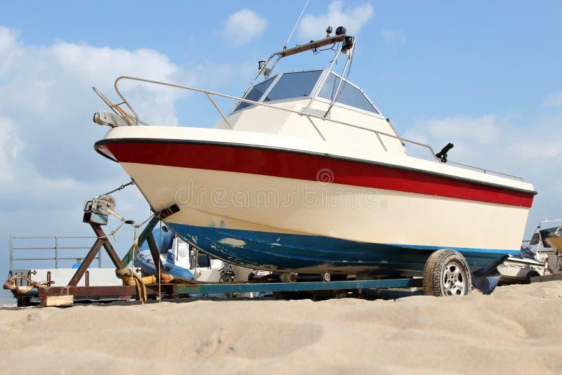 Motorboot 02 stock fotografie