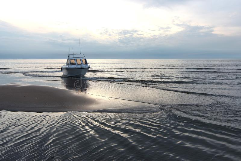 Motorboot 03 royalty-vrije stock afbeelding