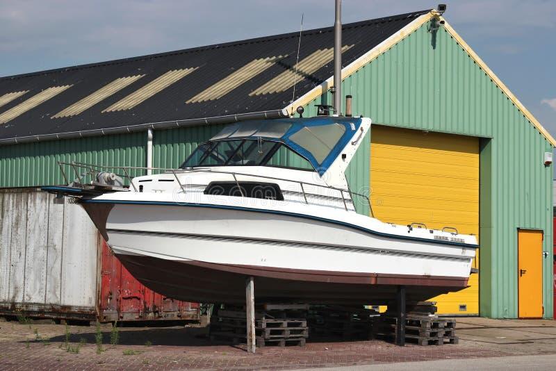 Motorboot 07 royalty-vrije stock foto's