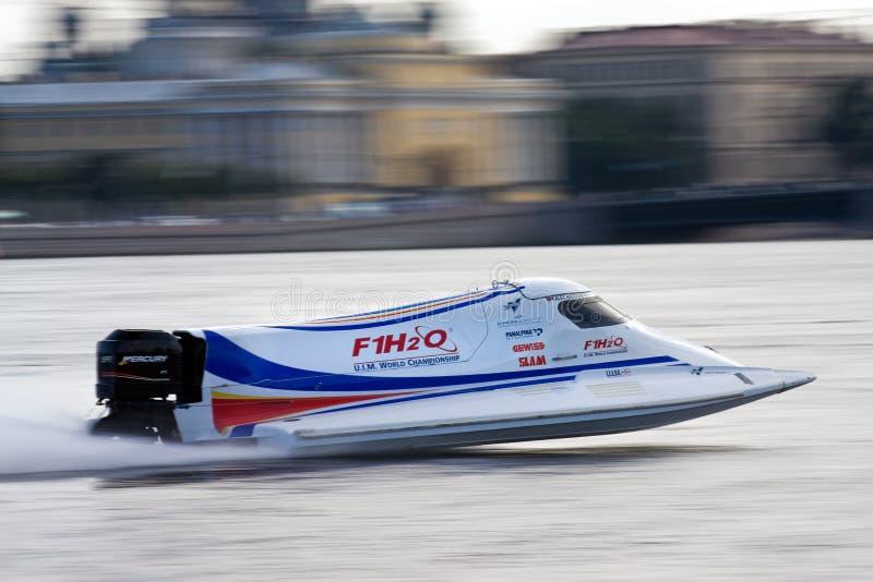 Motorboot-Weltmeisterschaft 2009 der Formel-1 stockfotografie