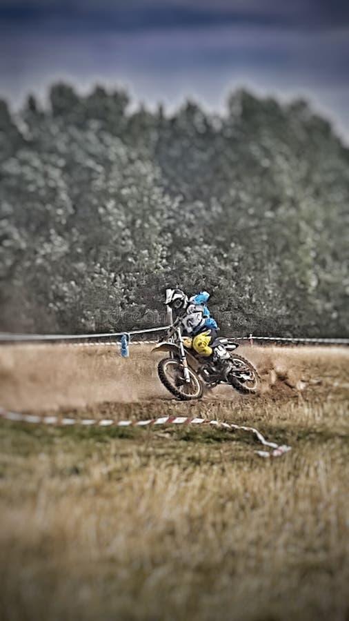 Motorcross στοκ φωτογραφίες