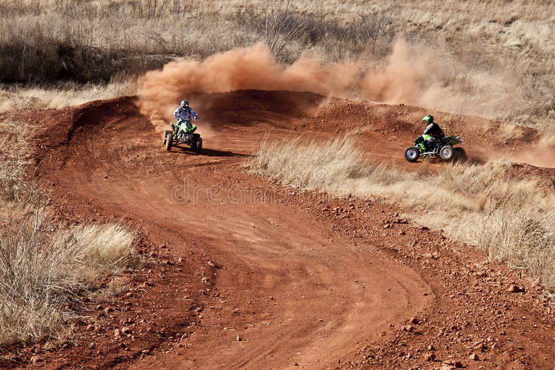 Download Motorcross stock image. Image of adventure, four, dusty - 8300017