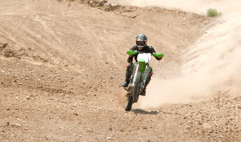 Motorcrossras stock afbeelding
