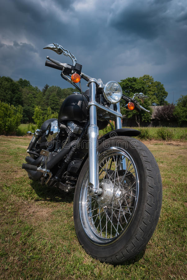 Download Motorcycle stock image. Image of clouds, bike, holiday - 25328683