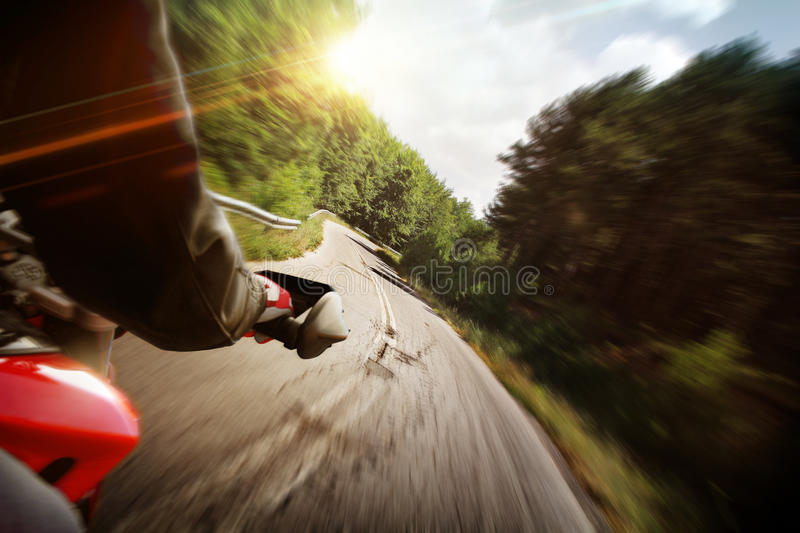 Motorcycle Action Stock Photos