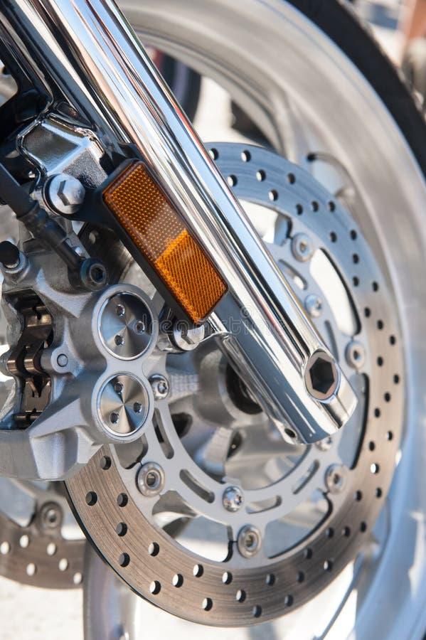 Motorcycle Brake Royalty Free Stock Photos