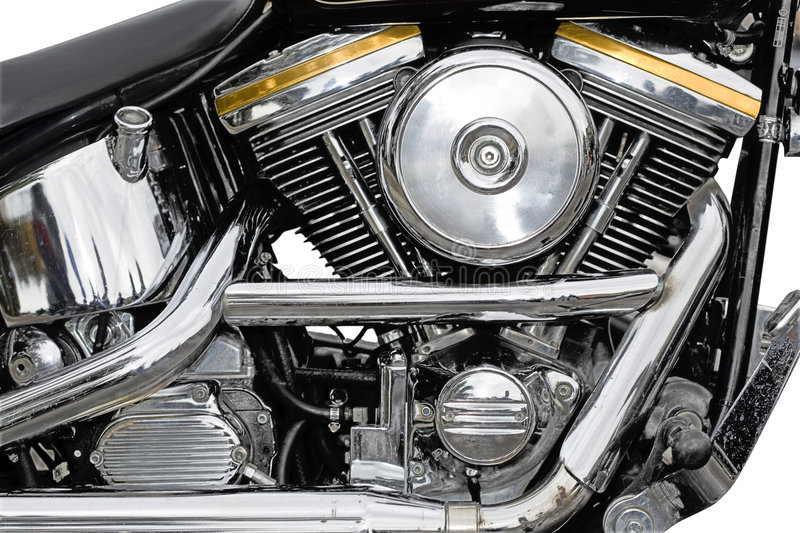 Download Motorcycle chrome stock photo. Image of cylinder, housings - 9177368
