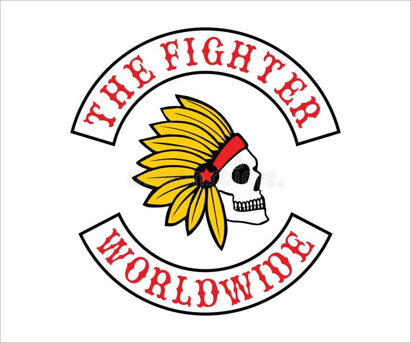Motorcycle Club Logo, emblem, symbol, sticker stock photos