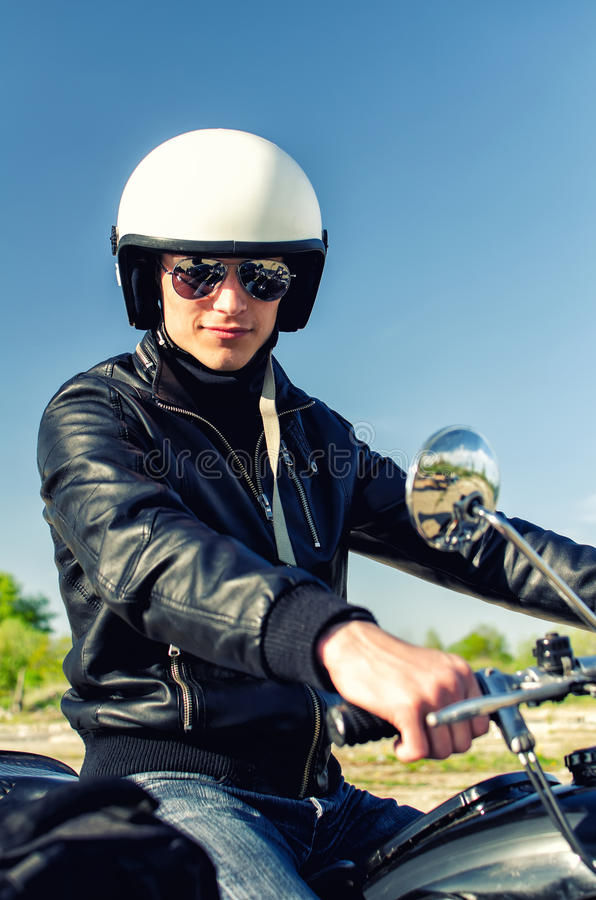Download Motorcycle cop stock image. Image of modern, justice - 24909185
