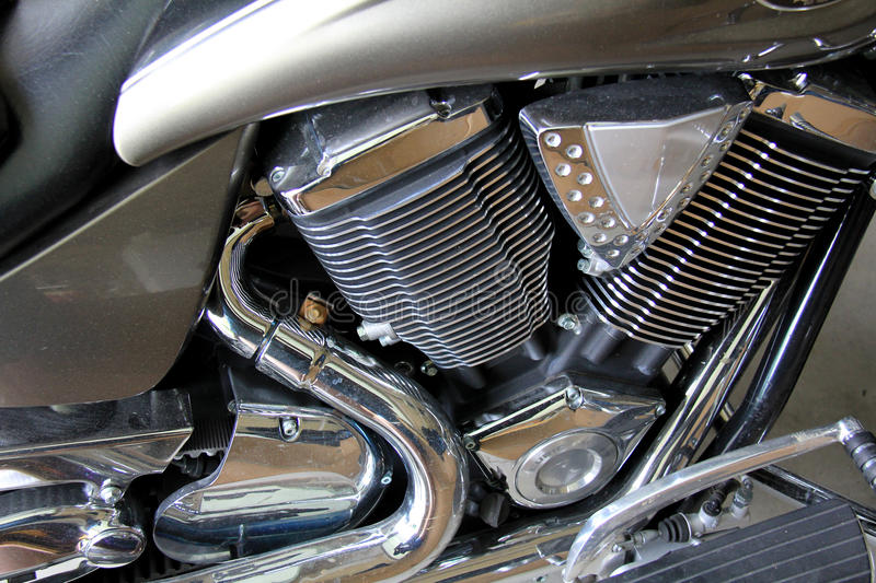 Download Motorcycle Engine stock image. Image of shiny, gasoline - 25000485