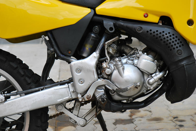 Download Motorcycle Engine stock image. Image of hydraulics, cylinder - 25100457