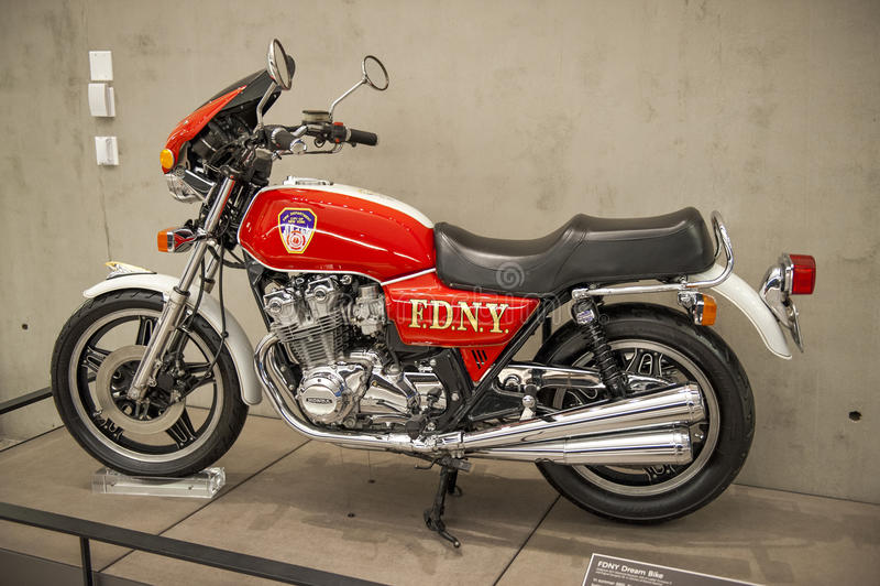 Motorcycle FDNY royalty free stock photos
