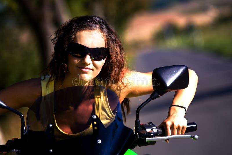Download Motorcycle girl stock photo. Image of cruise, motorbike - 10685490