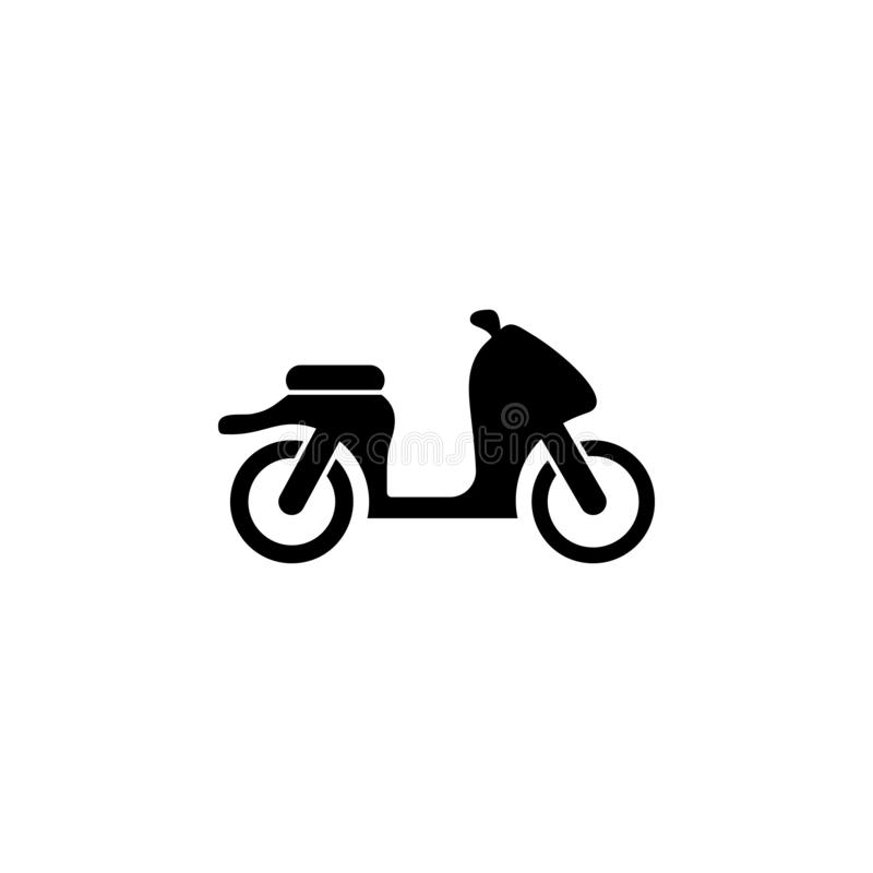 motorcycle icon. Simple glyph vector of universal set icons for UI and UX, website or mobile application vector illustration