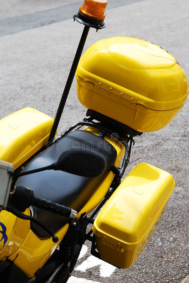 Download Motorcycle Panniers stock photo. Image of diesel, cargo - 20590548