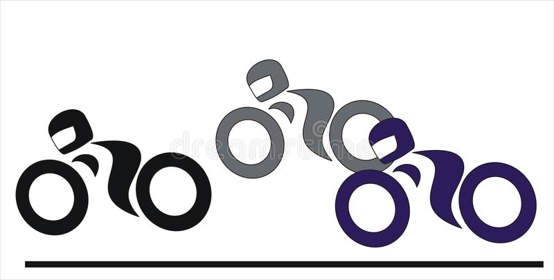 Download Motorcycle race stock vector. Image of drive, motorcycle - 23898833