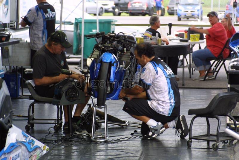 NHRA at Gateway Motorsports Park 2018 royalty free stock photos