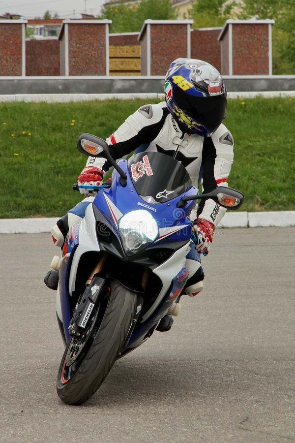Motorcycle Racing. Rally cross-country stock images