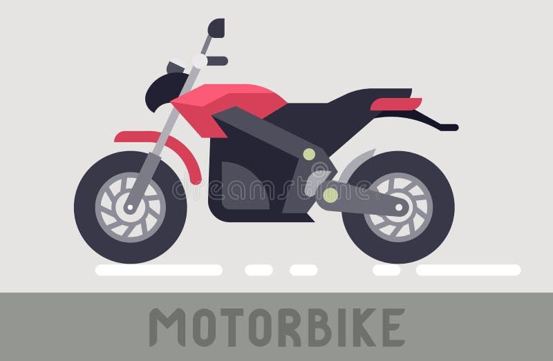 Motorcycle royalty free illustration