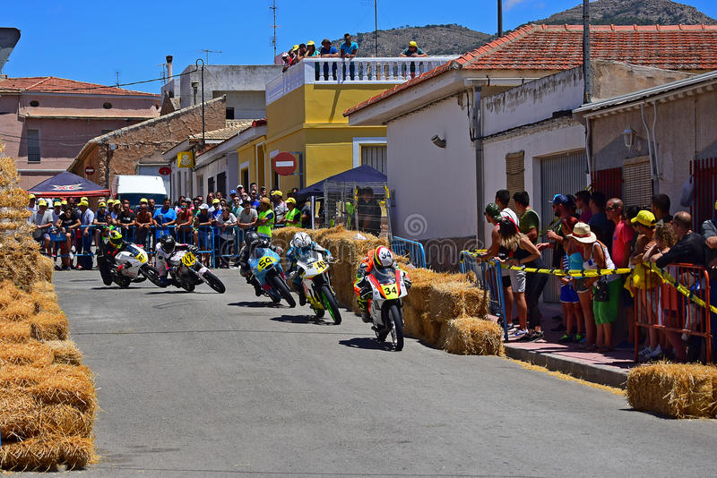 Motorcycle Road Race stock images